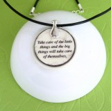 The Astrologer Fable Pendant Necklace